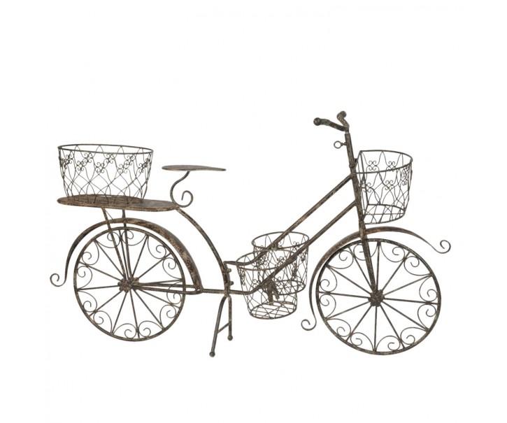 Kolo s košíky na květiny - 64*40*90 cm