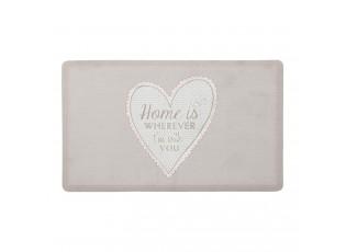Podlahová rohož My Lovely Home  - 44 * 74 cm