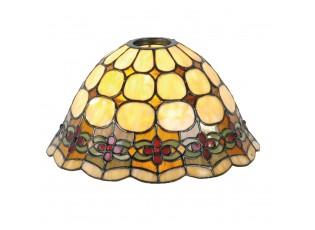 Stínidlo Tiffany Oxford - Ø 25*15 cm E27 / KH 6 cm