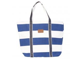 Plážová, nákupní taška modrá -35*30*45 cm