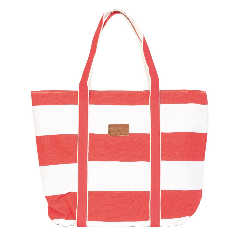 Clayre & Eef Plážová, nákupní taška -35*30*45 cm