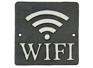 Cedulka WiFi - 12*12 cm