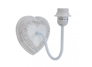 Nástěnná lampa srdce - 16*22*18 cm