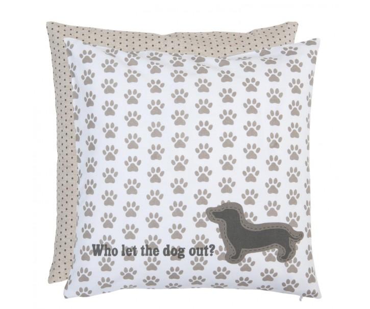 Polštář bez výplně 40*40 cm For Dogs Only