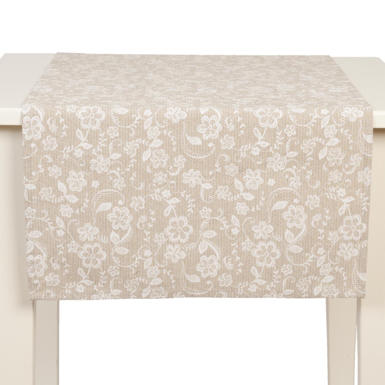 Běhoun na stůl Lace With Love - 50*140 cm