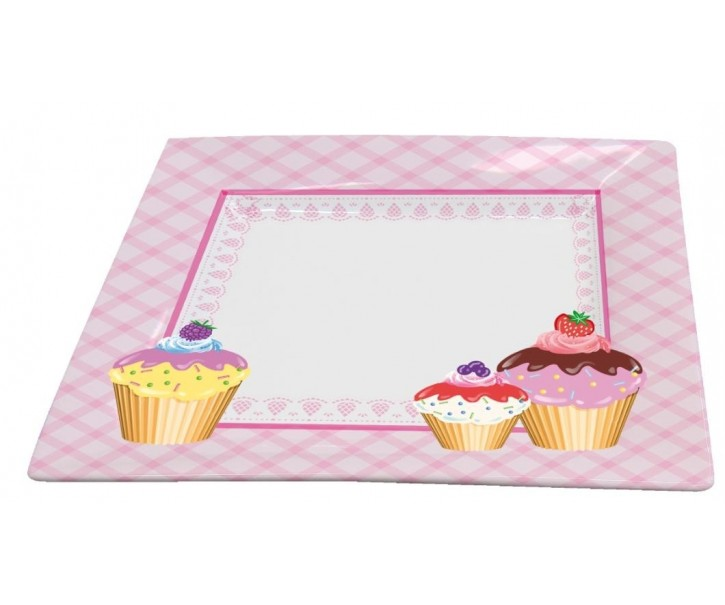 Talíř velký Cupcakes