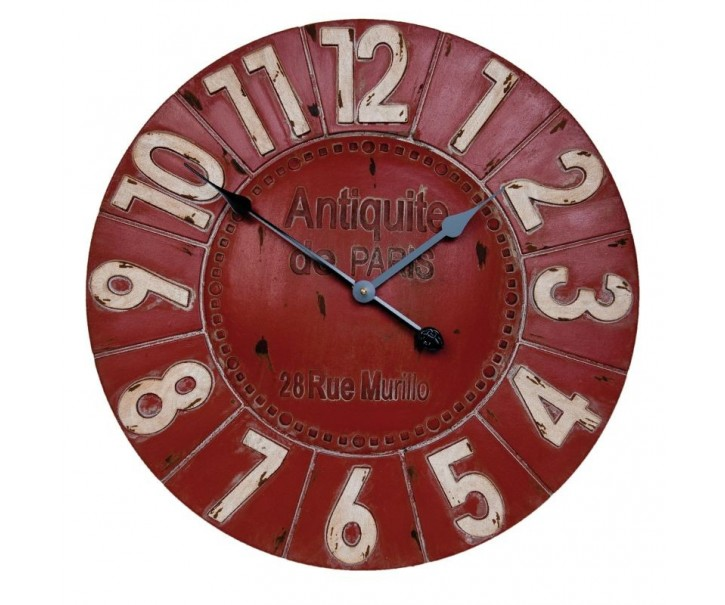 Nástěnné hodiny Ø 59*5 cm / 1xAA