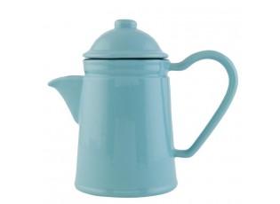 Konvička na čaj modrá