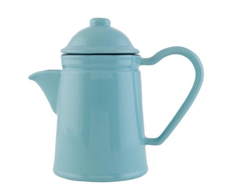 Konvička na čaj modrá 0,6L