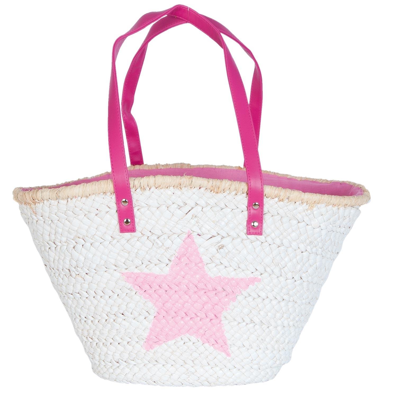 Clayre & Eef Plážová nebo nákupní taška - 50*16*30 cm