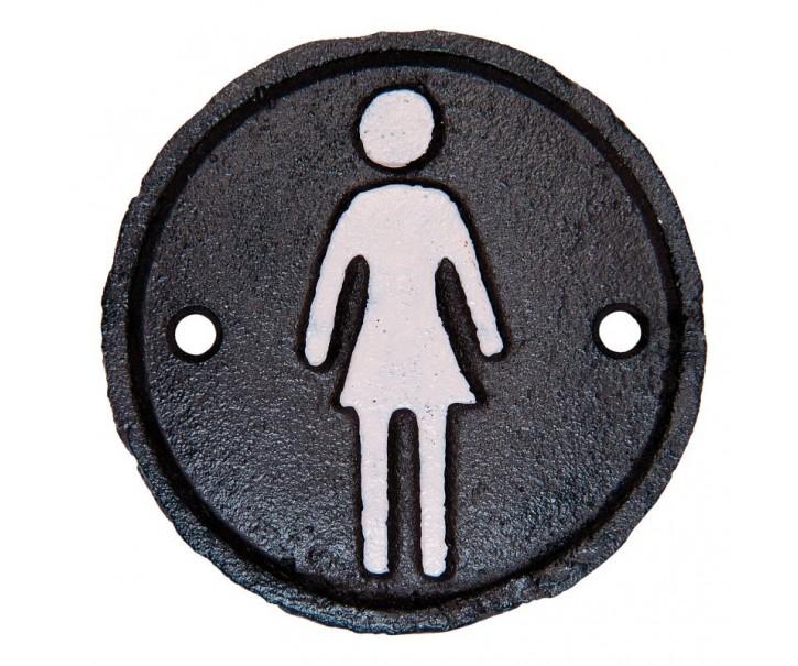Označení wc dámy