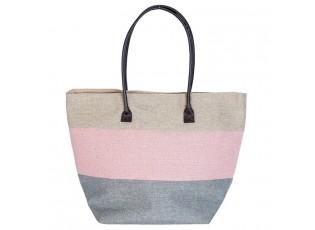 Nákupní/plážová taška -30*23*37 cm