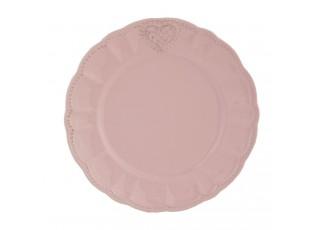 Dezertní talíř Heart - pr 21 cm