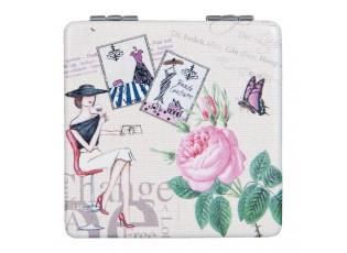 Kosmetické zrcátko do kabelky - 6*6*1 cm