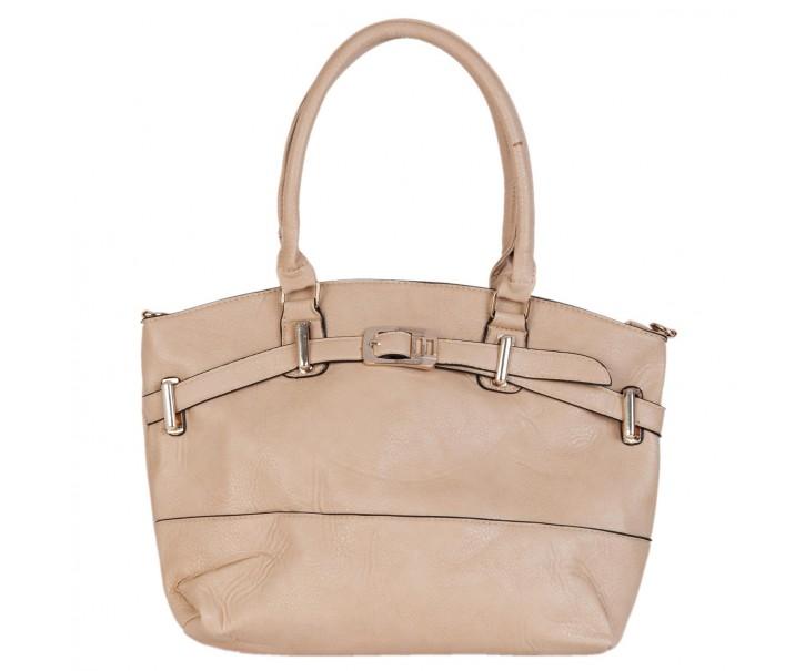 Béžová kabelka 42*12*28 cm