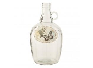 Láhev s motýlkem Ø 12*24 cm
