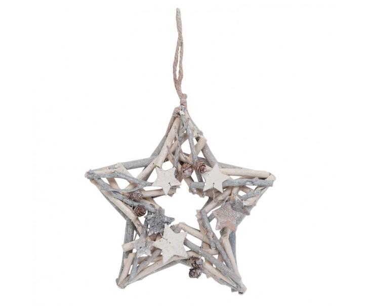 Závěsná hvězda 25 cm