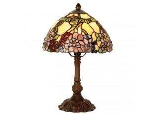 Stolní lampa Tiffany - Ø 22*32 cm 1x E14