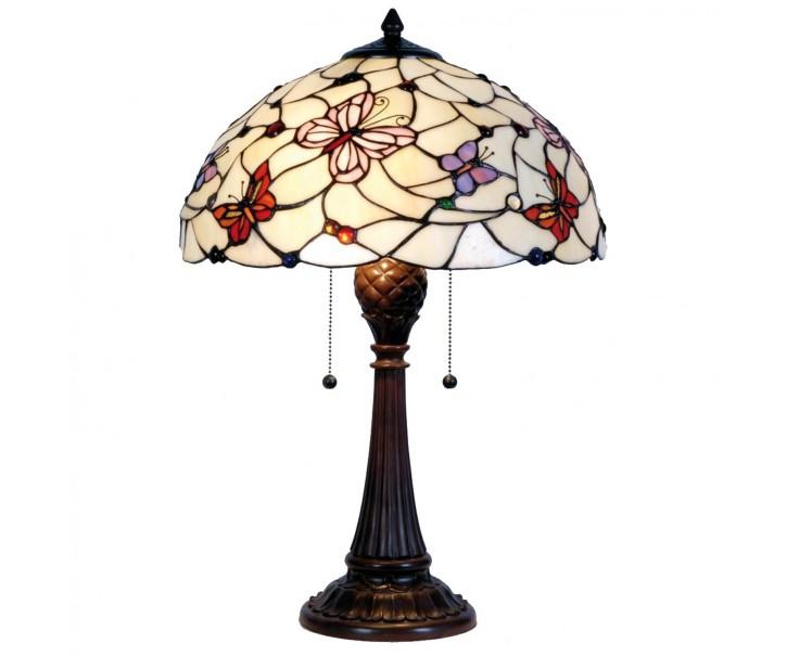 Stolní lampa Tiffany - Ø 41*60 cm 2x E27