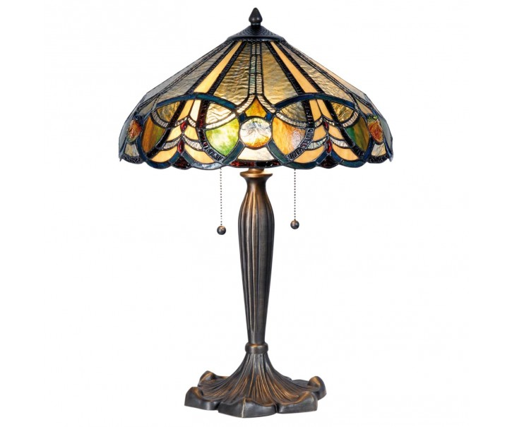 Stolní lampa Tiffany - Ø 41*61 cm 2x E27
