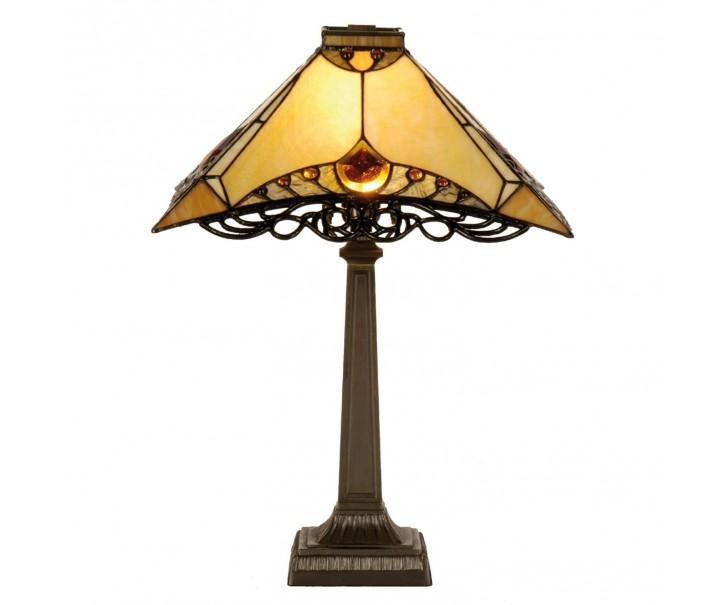 Stolní lampa Tiffany - Ø 50*49 cm 1x E14