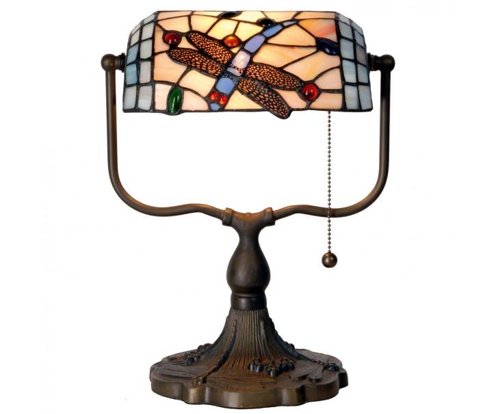 Stolní lampa Tiffany - 27*20*36 cm 1x E27