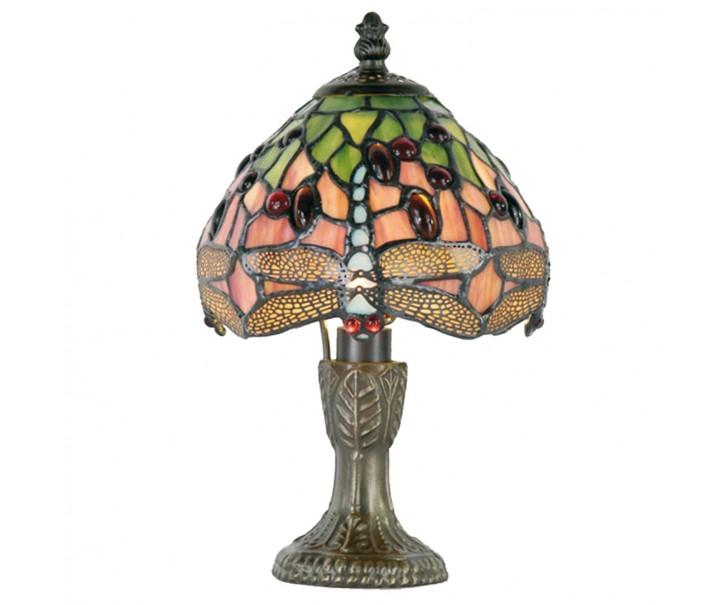 Stolní lampa Tiffany - Ø 16*25 cm 1x E14