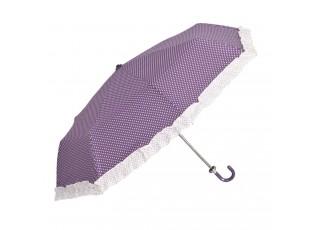 Stylový deštník skládací do kabelky - Ø 98 (31) cm