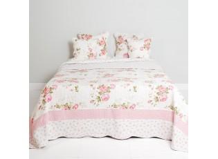 Přehoz na dvoulůžkové postele Roses - 230 x 260 cm