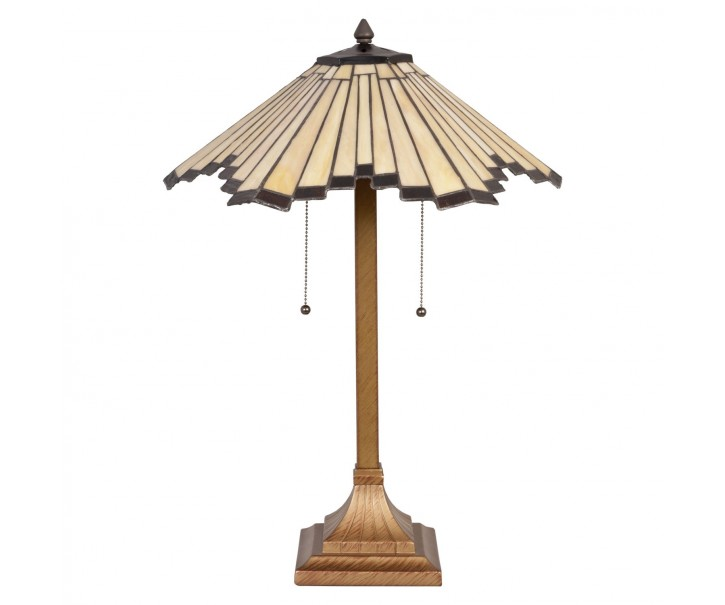 Stolní lampa Tiffany Strips