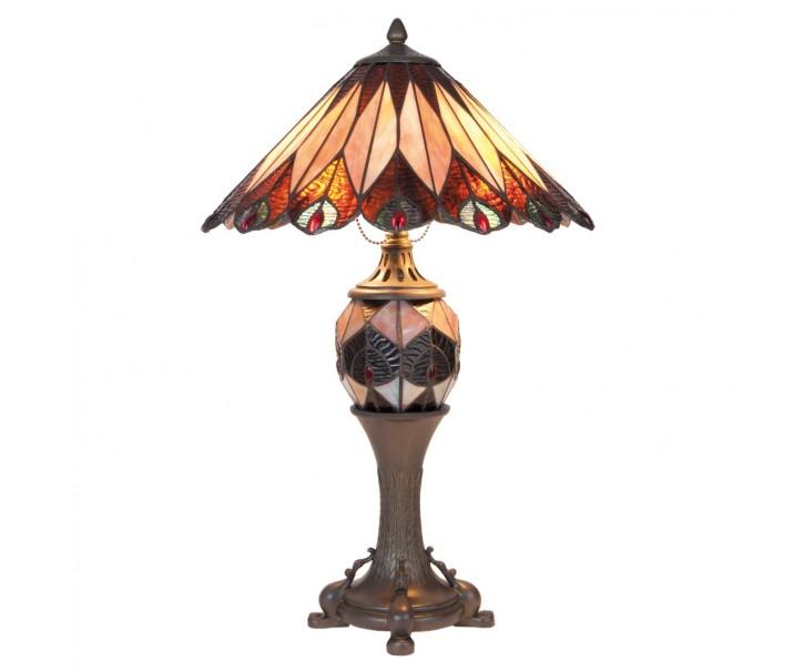 Stolní lampa Tiffany Driblet