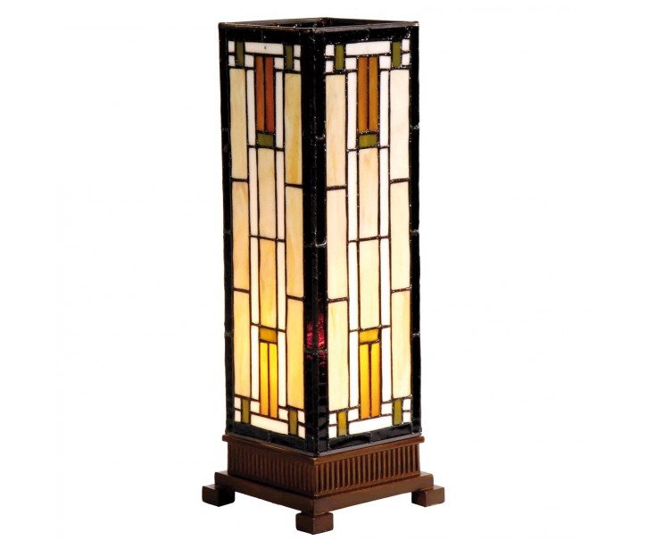 Stolní lampa Tiffany Tower