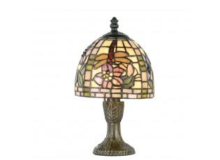 Stolní lampa Tiffany Cappa - Ø 16*24 cm 1x E14 / Max 40W