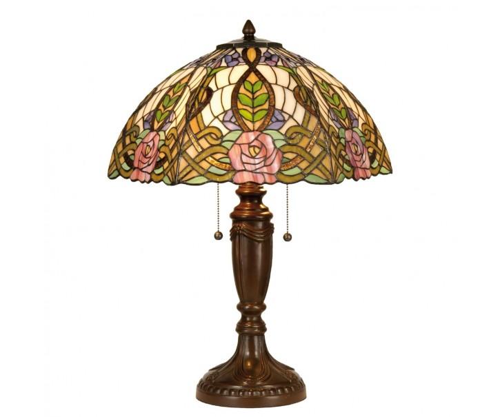 Stolní lampa Tiffany Rose