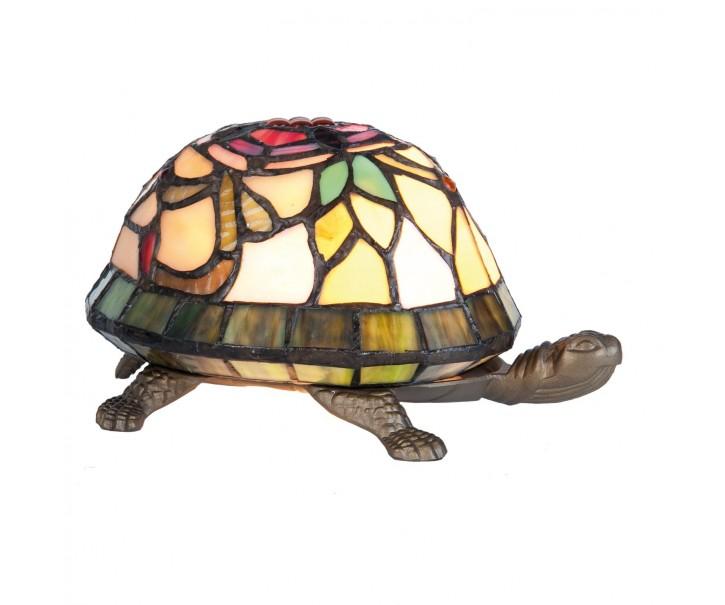 Stolní lampa Tiffany Tortoise