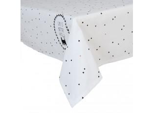 Ubrus bílý Cat Lovers 130*180 cm