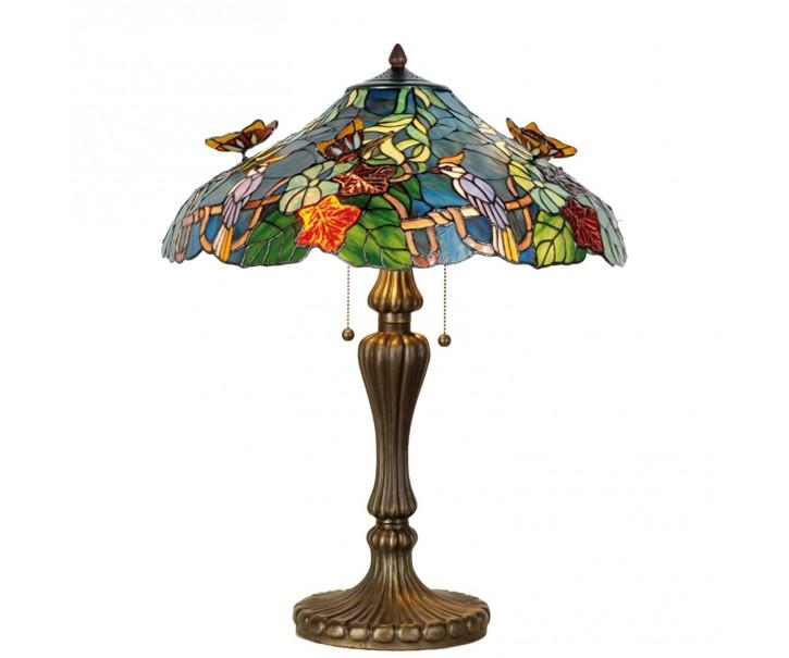 Stolní lampa Tiffany Butterfly
