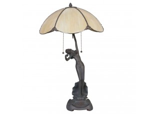Stilní lampa Tiffany Woman