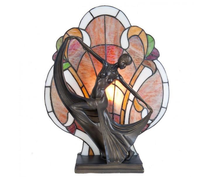 Stolní lampa Tiffany - 35*15*44