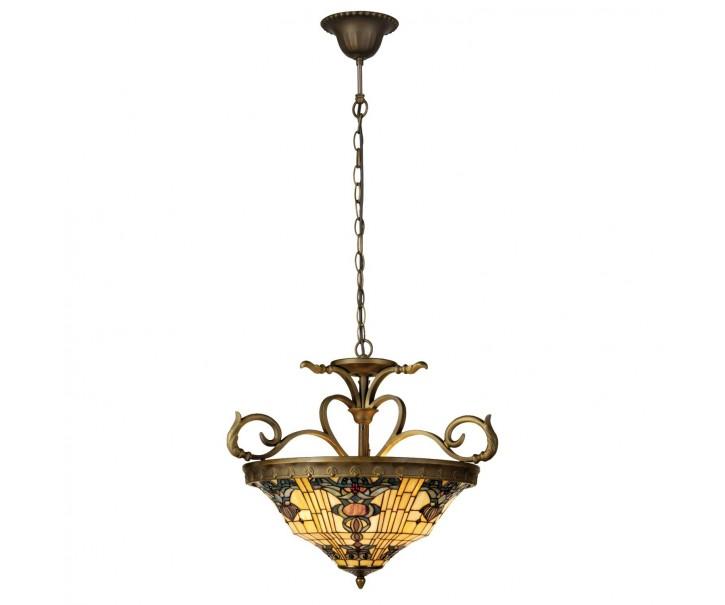 Závěsné svítidlo Tiffany Alloment - Ø 56*170 cm 3x E27 / Max 60W