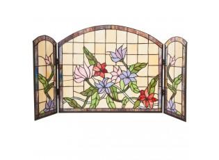 Nástěnná lampa - okno Tiffany - 91*51 cm