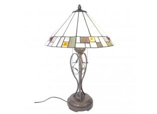 Stolní lampa Tiffany Bridgford - Ø 40*62 cm