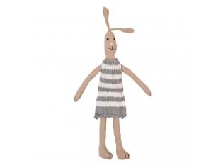 Bavlněný králík se svetříkem - 35 cm