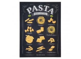 Dřevěná tabule Pasta