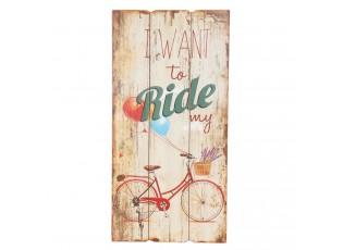 Cedule Ride - 30*2*60 cm