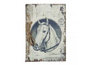 Zápisník Kůň - 17*1*17 cm - 84 stran