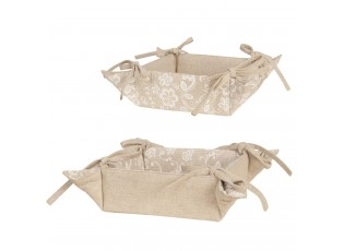 Textilní košíček Lace With Love - 35 * 35 cm
