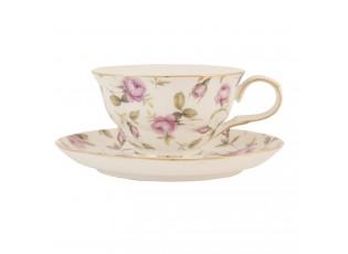 Šálek s podšálkem Tea Rose - 0.2 L
