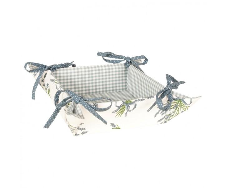 Textilní ošatka Bouquet de Lavande - 35 * 35 cm