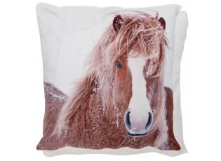 Povlak na polštář REAL ANIMALS Kůň - 45*45 cm